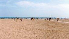 Italië, Adriatische kust - marina beach