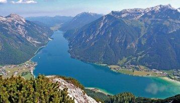 Oostenrijk, Salzburgerland - spectaculair uitzicht op de bergen