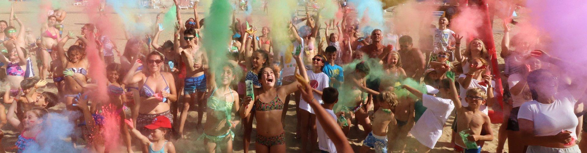 Banner 1 garden paradiso - colour party