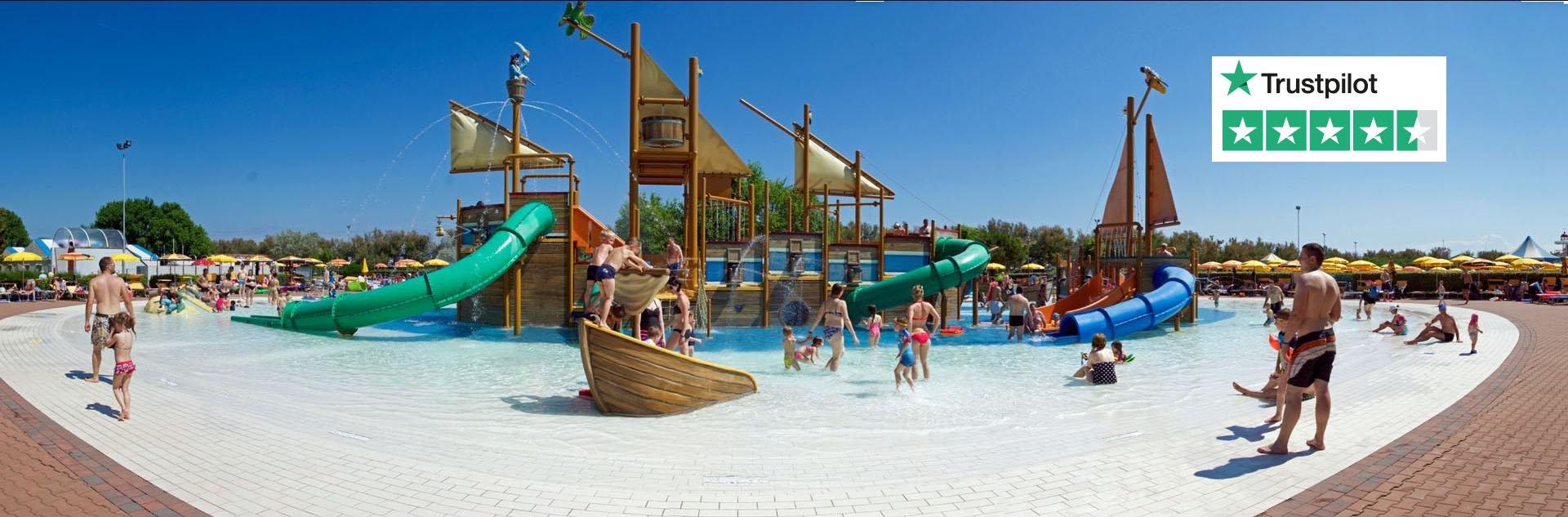 Pra delle Torri - Banner foto zwembad piratenbad